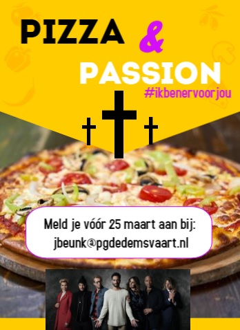 Pizza Passion flyer